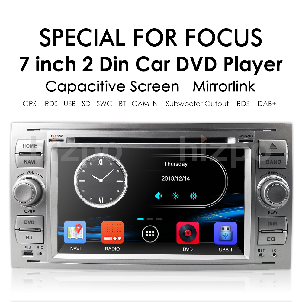 Details about Car DVD Player GPS SAT NAV Bluetooth DAB+ Radio Ford Focus  Connect S-Max