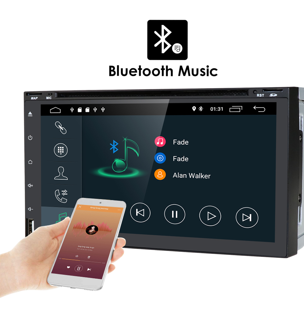 android 8 1 autoradio doppel din gps navi usb sd dab 3g. Black Bedroom Furniture Sets. Home Design Ideas