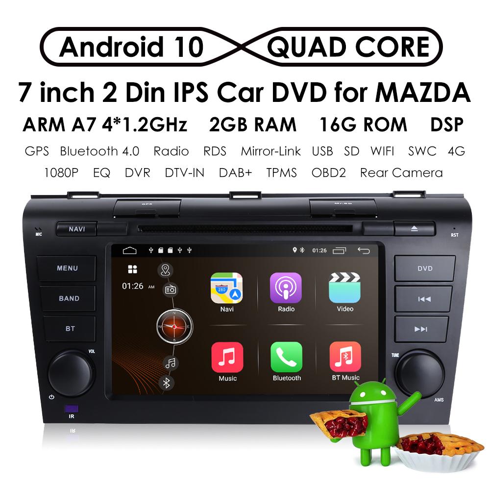 Android 8 1 Car Dvd Gps Navi Radio For Mazda 3 2004 2005