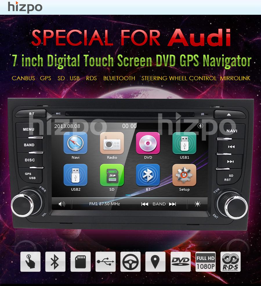 Autocardvdgps audi a4 b6 radio bluetooth - car audi