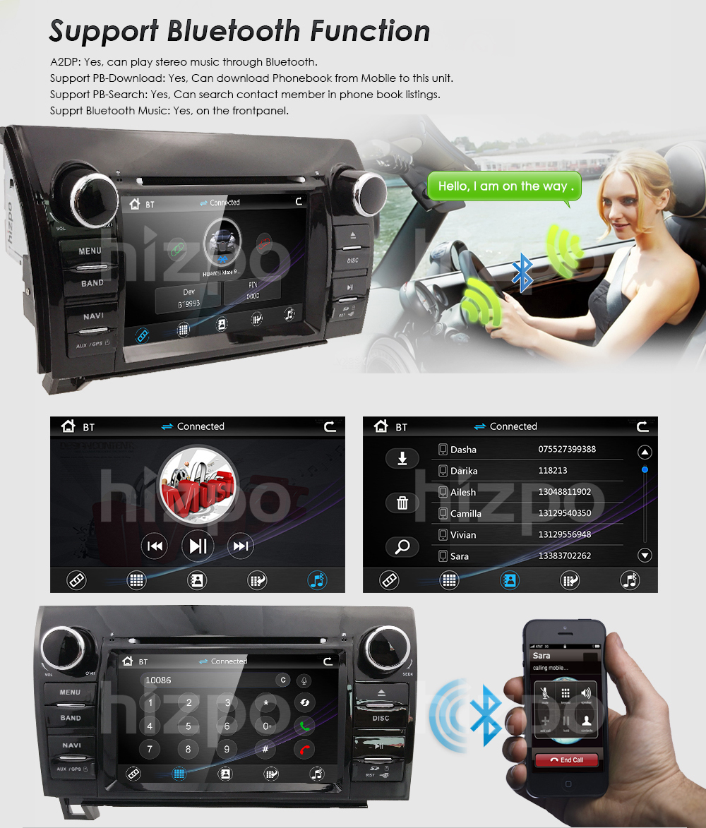 Fit toyota tundra sequoia in dash gps navigation car truck stereo does not apply fandeluxe Image collections