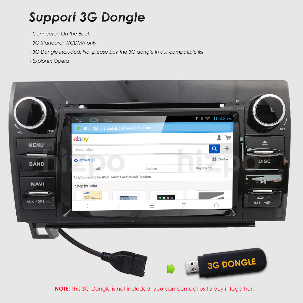 Fit toyota tundra sequoia in dash gps navigation car truck stereo fit toyota tundra sequoia in dash gps navigation car truck stereo radio dvd bt ebay fandeluxe Image collections