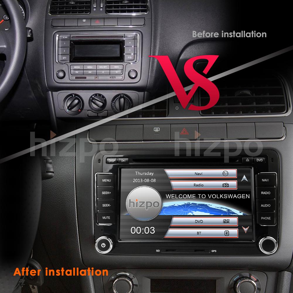 Car Radio For Vw Passat Touran Golf Mk5 6 T5 Eos Gps Dvd